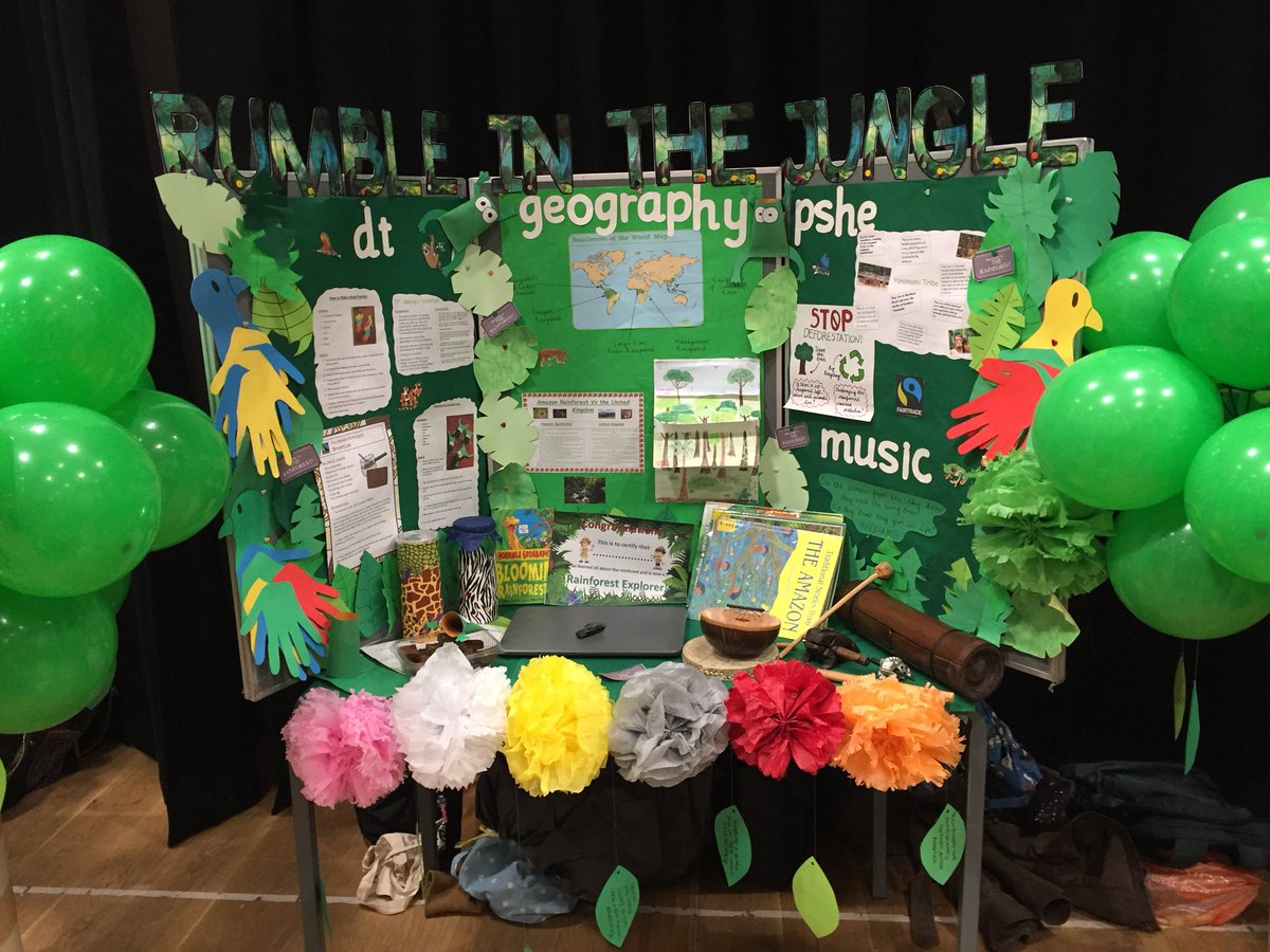Our thematic Learning presentation 'Rumble in the Jungle'! #ysjprimed