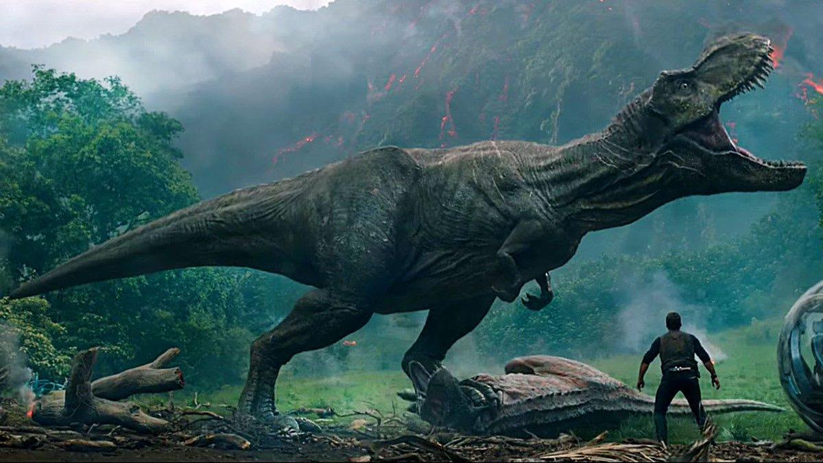 Dinos, volcanos, and Jeff Goldblum: The new #JurassicWorld trailer is here https://t.co/bxlllMqcBi