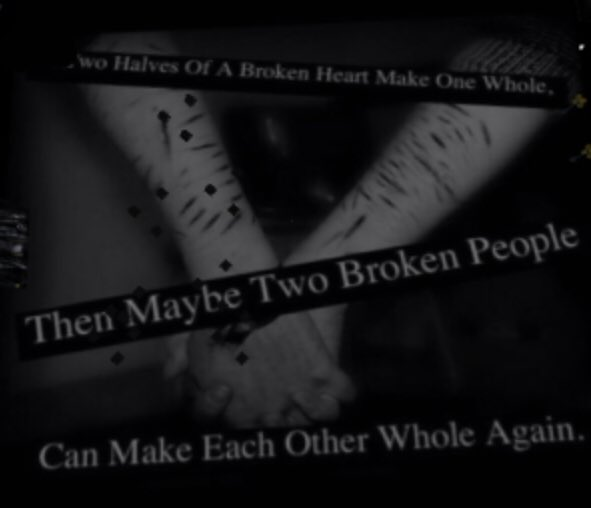 two broken hearts make one