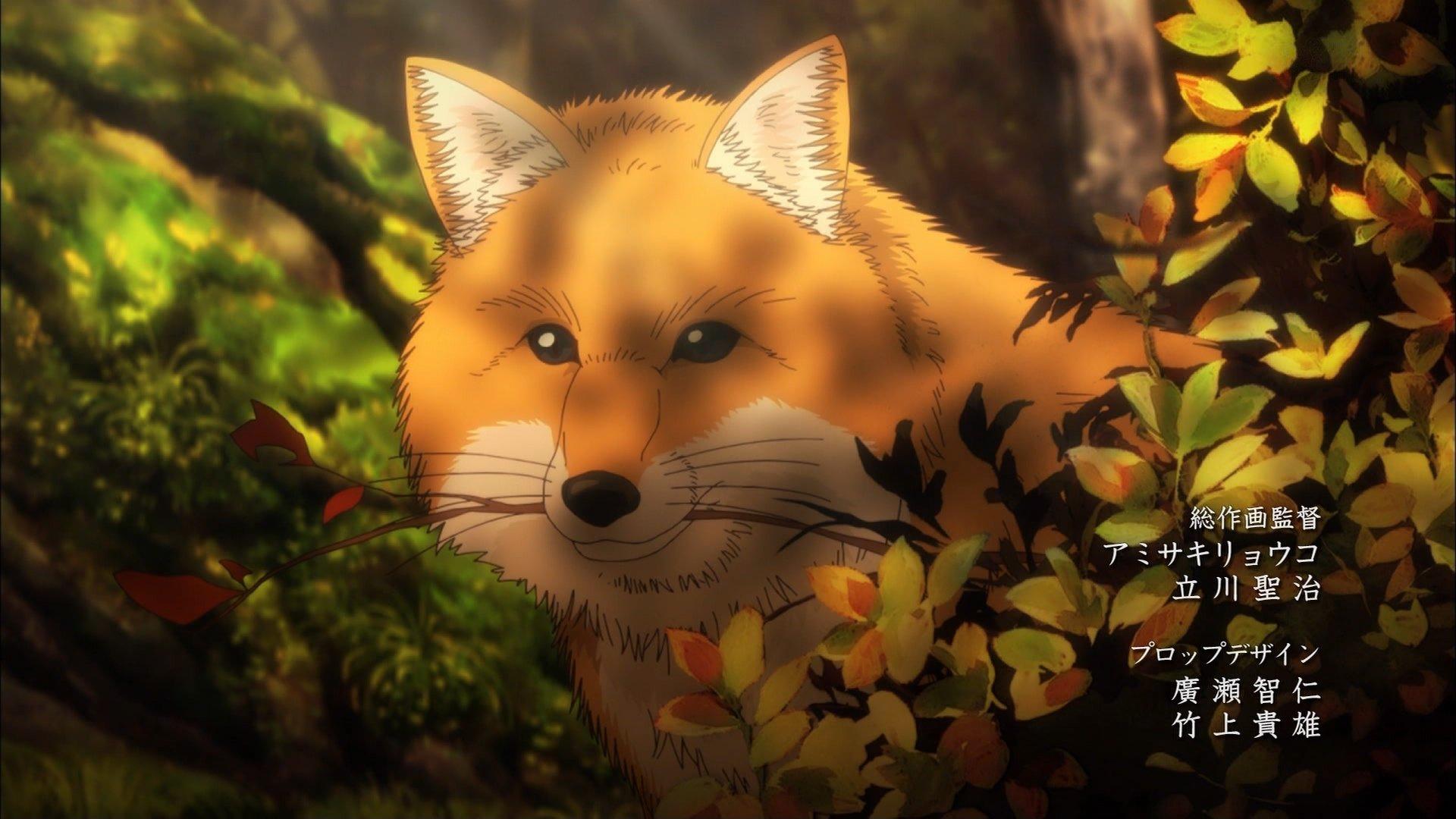 キツネ #キノの旅 #kinonotabi #bs11 https://t.co/jQ4wPUifRq