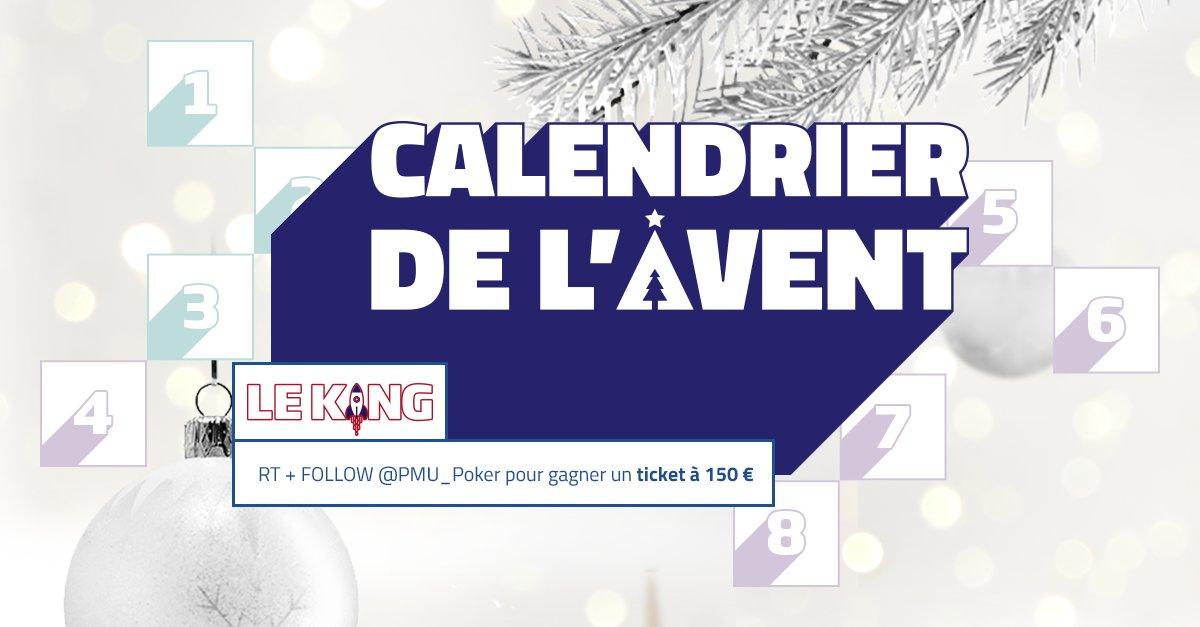 Calendrier Avent Pmu.Pmu Poker On Twitter Calendrier De L Avent Rt