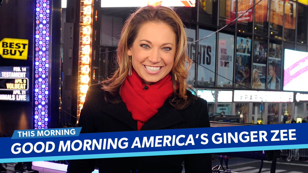 Good Morning America Ginger : Ginger zee twitter