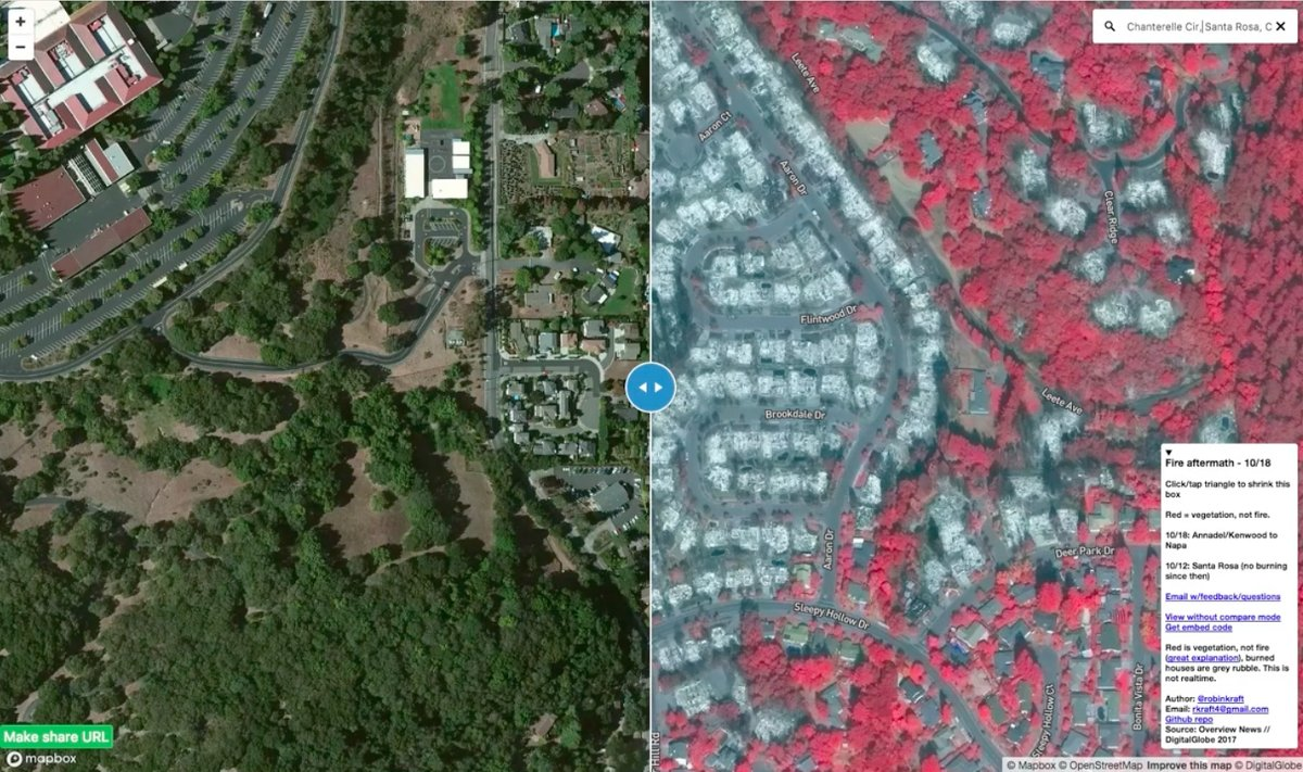 Mapbox On Twitter How Robinkraft Built The Santarosa Fire Map