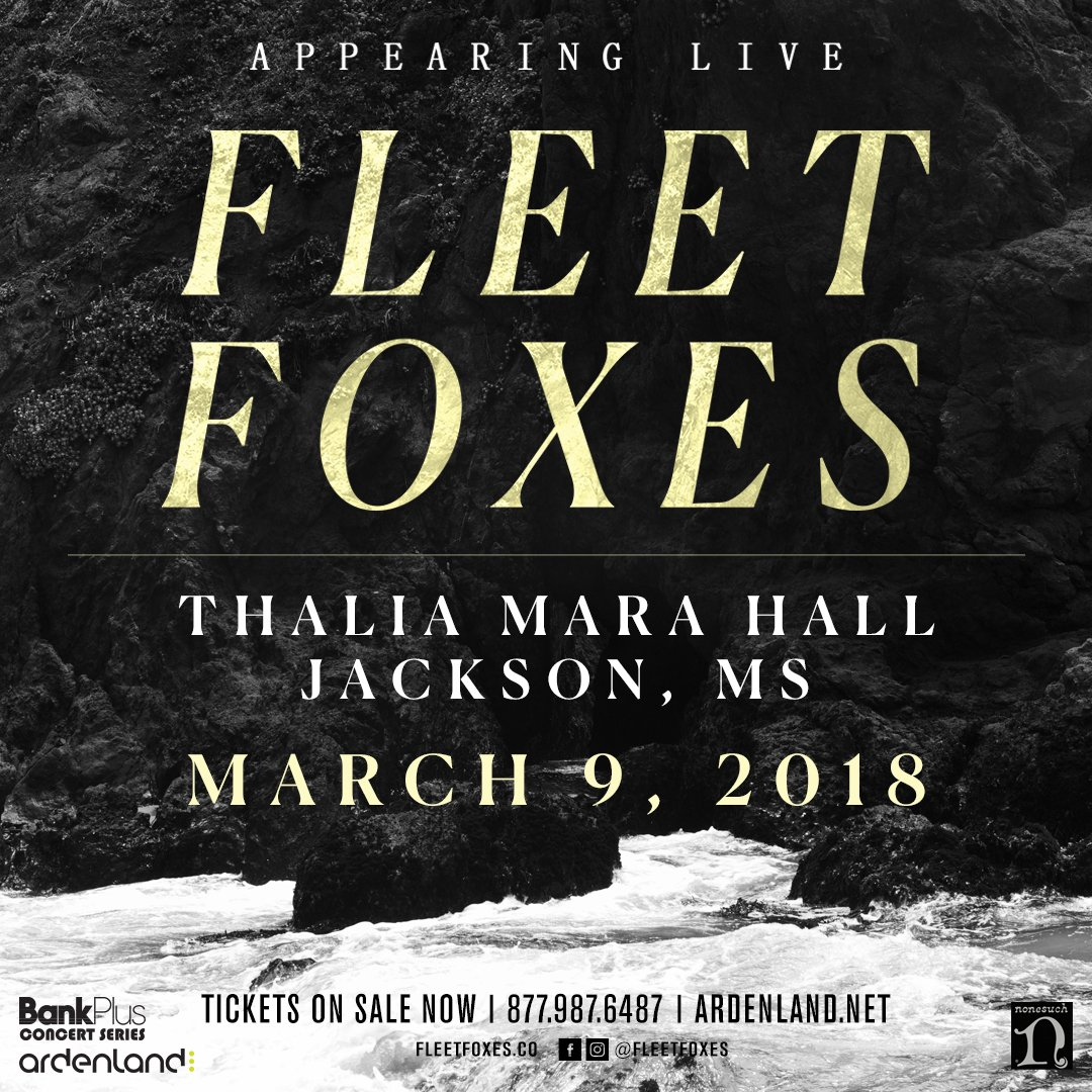 fleet foxes jackson ms