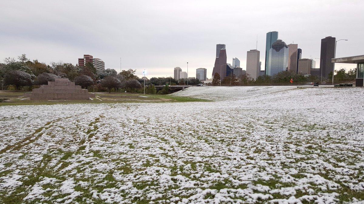 Decemer 7, 2017 Houston Snowfall