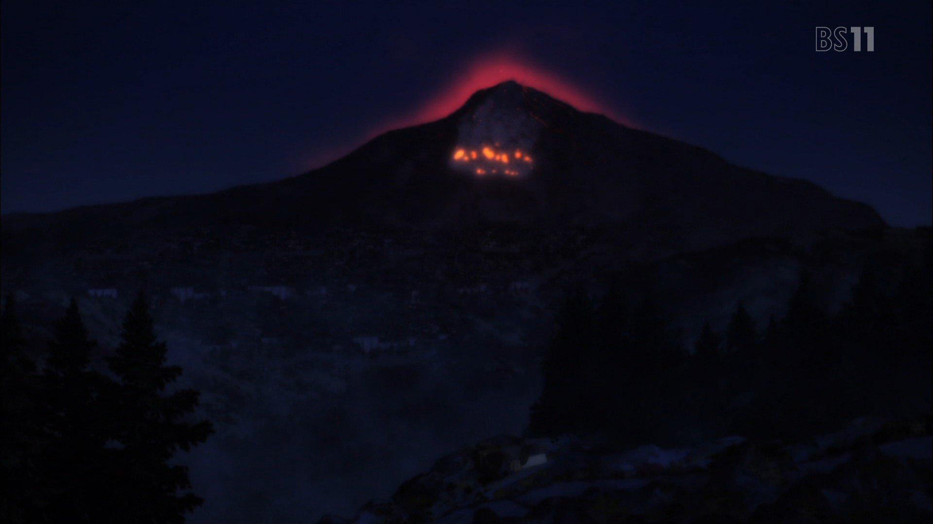 噴火 #kinonotabi #キノの旅 #bs11 https://t.co/bO6bBl6nFs