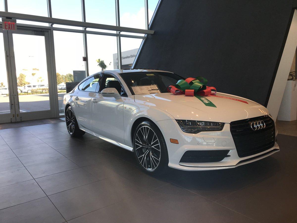 Audi Sarasota On Twitter Looks Like A Candy Cane With Some Extra - Audi sarasota