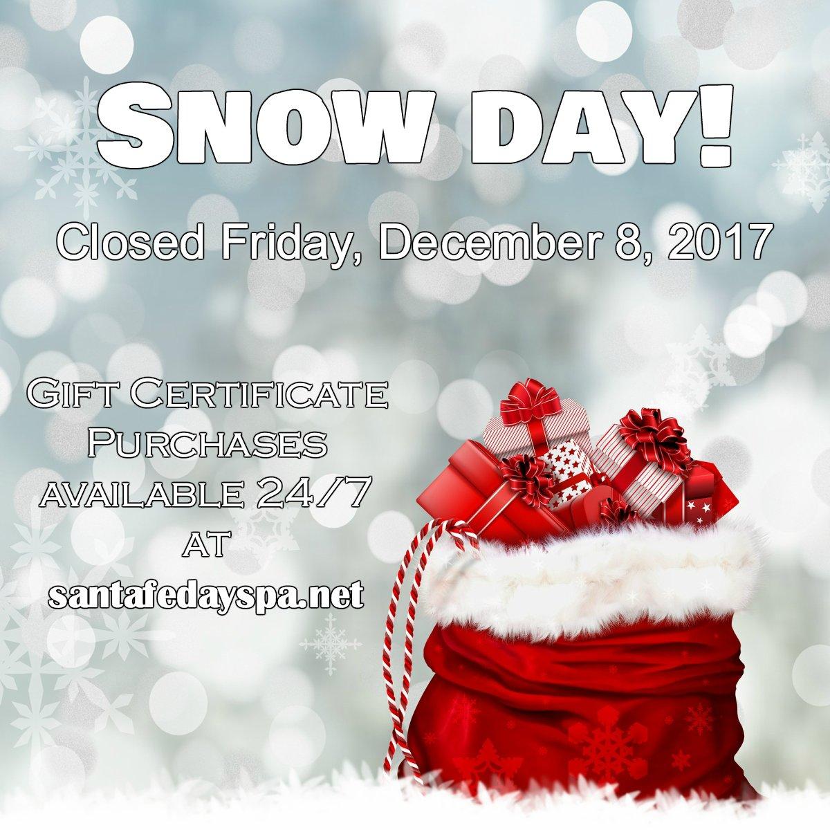 Santa Fe Day Spa on Twitter: \