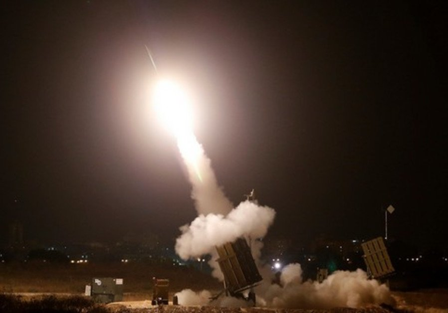 RT @Jerusalem_Post: BREAKING: Iron Dome intercepts rocket fired from the Gaza Strip https://t.co/I7FhUVMO19 https://t.co/aBHoZezTFN