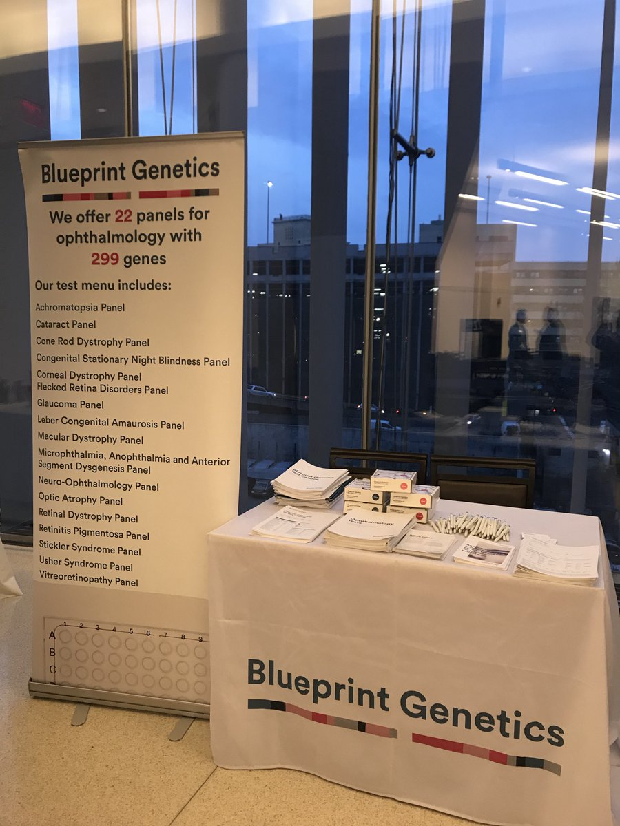 Blueprint genetics on twitter visit us today at precision blueprint genetics on twitter visit us today at precision ophthalmology to find out more about our ophthalmology offering geneticknowledge malvernweather Images