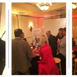 Having so much with our friends and customers @HUserGroup's Holiday event!