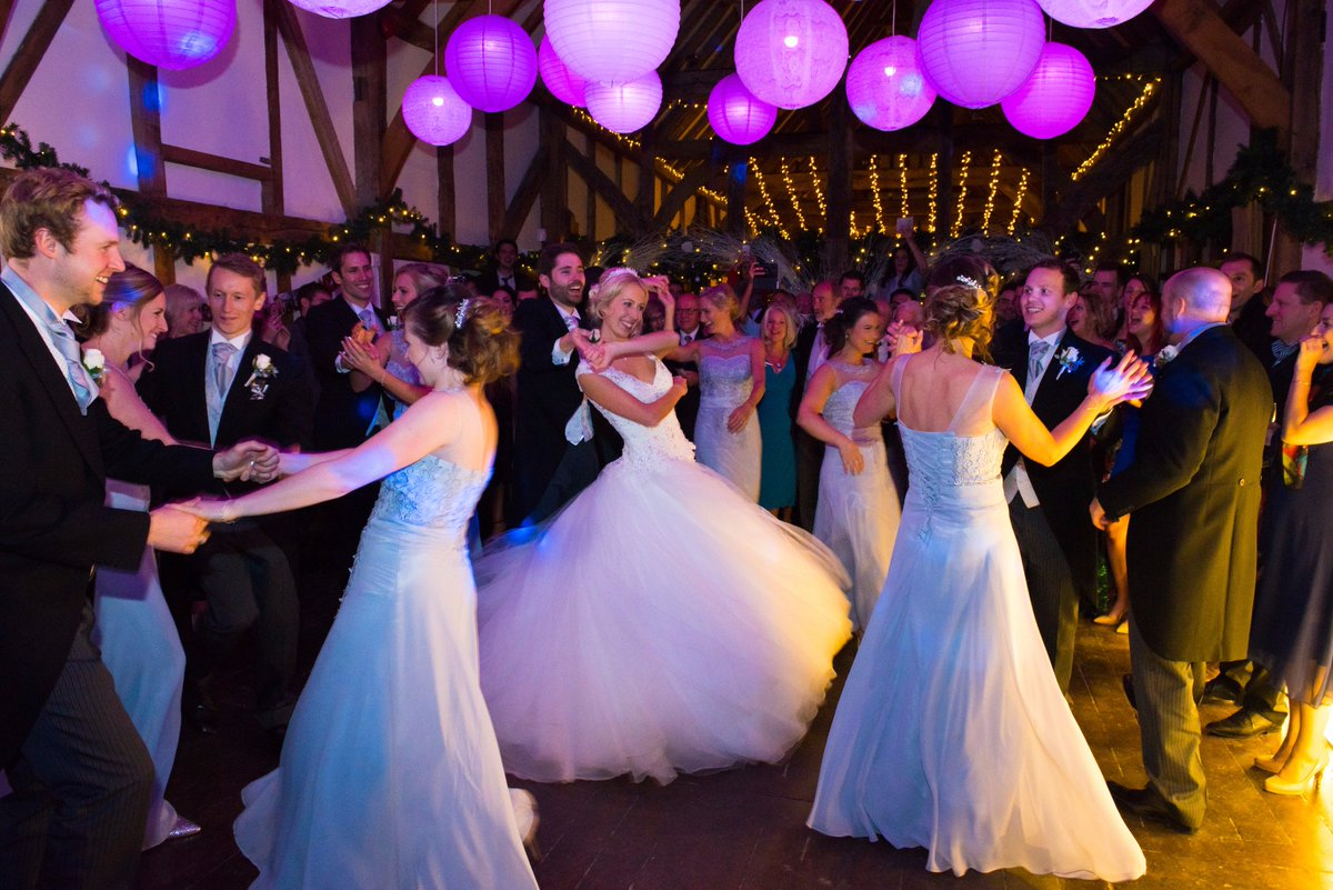 Oh what a night! Our beautiful #tithebarn @LoseleyPark the perfect setting for the perfect #wedding 😍 Don't miss our next #weddingshowcase Open Day on Sunday 18th February 2018