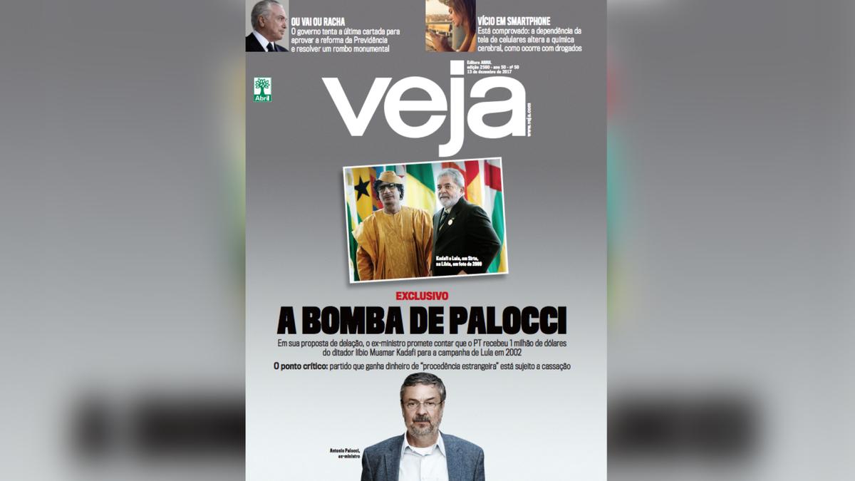 Na 'Última Edição' de VEJA: A bomba de Palocci contra Lula e o PT Confira: https://t.co/dUR8VrnkYR
