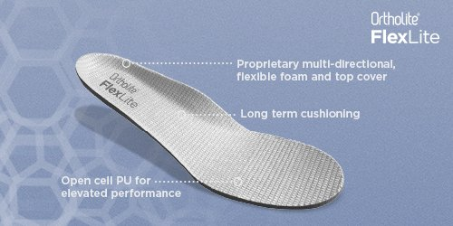 OrthoLite   High Performance Comfort Insoles, Open Cell Foam