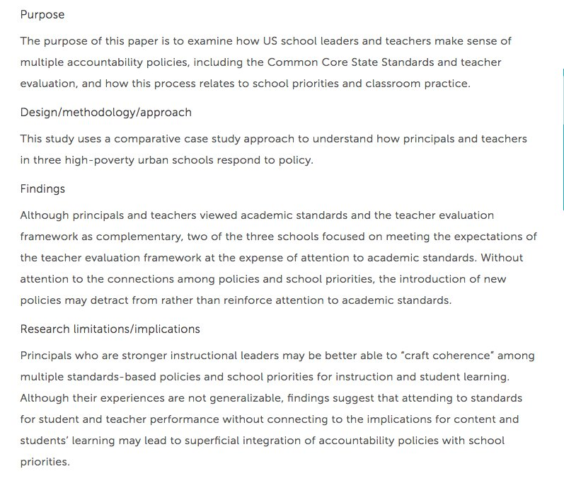 Liz Leisy Stosich On Twitter New Jea Article On How Principals And
