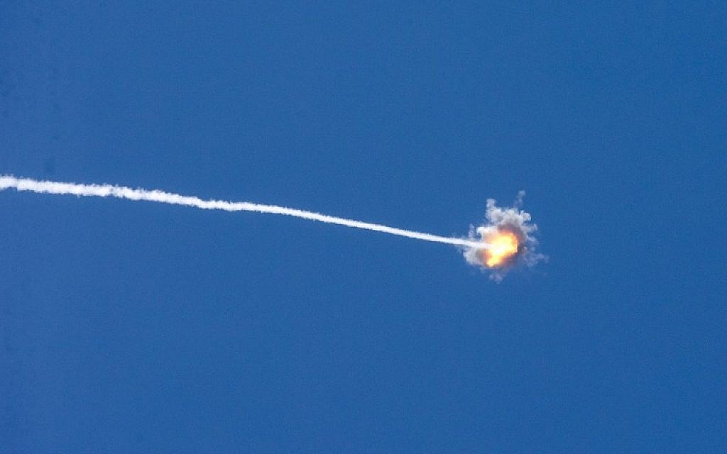 Israel launched fresh airstrikes in the Gaza Strip on Saturday in response to rocket fire from the enclave and the Palestinian Islamist Hamas group.