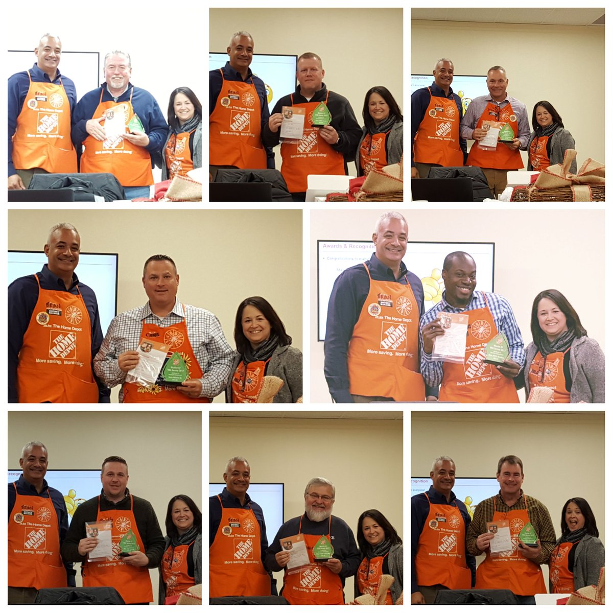 #D27 #StoreManagers #TripleGreenTeam #100%Club #MidAtlantic #VOA #MyDistrictRocks #MySmTeamRocks  #Recognition thanks to all our teams for all you do to take care of our associates and customers and thank you @b_mungul for all you do for us keep up the great work<br>http://pic.twitter.com/S1bYjzOqIl &ndash; à The Home Depot