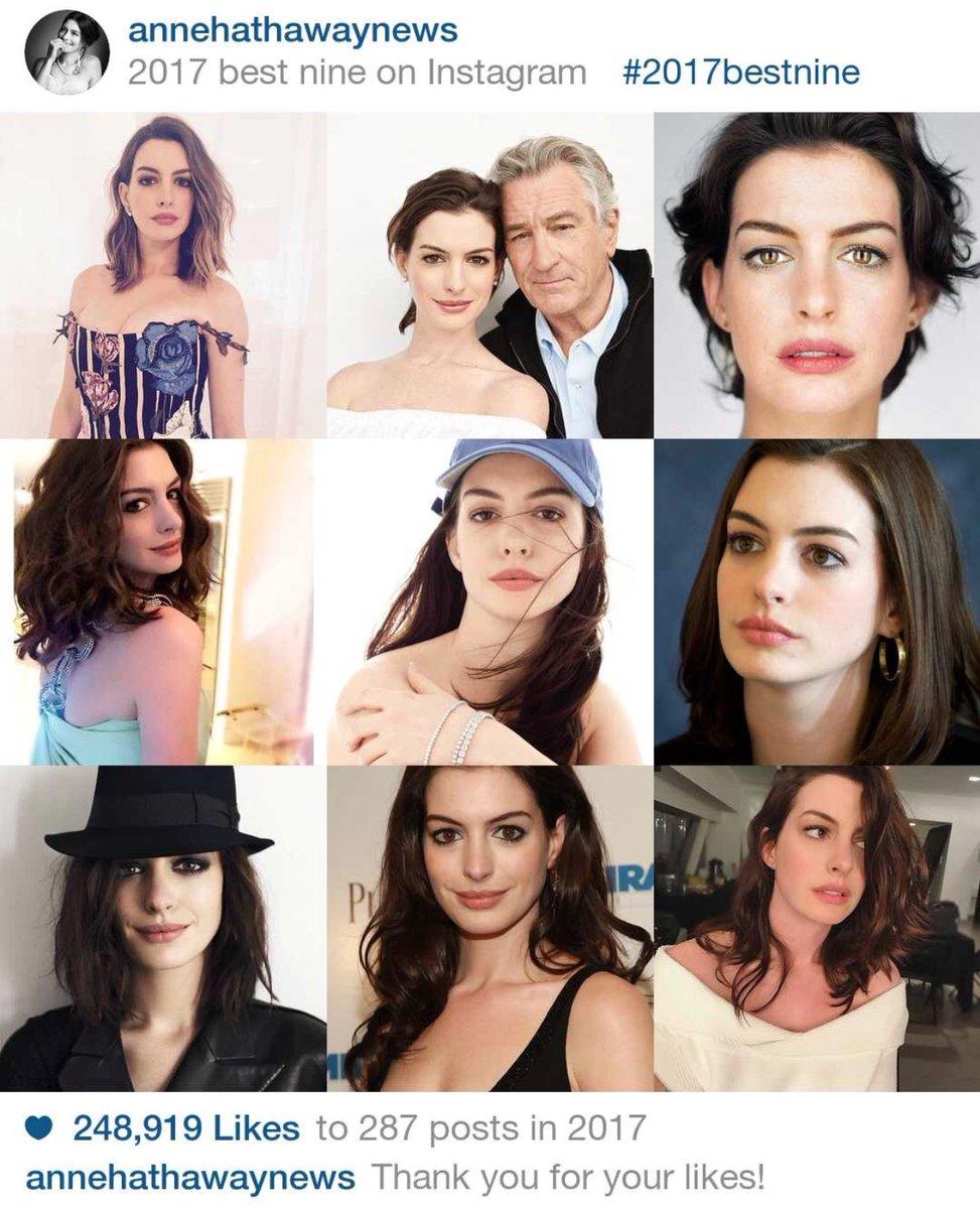 Anne Hathaway Instagram: Anne Hathaway (@AHathawayNews)