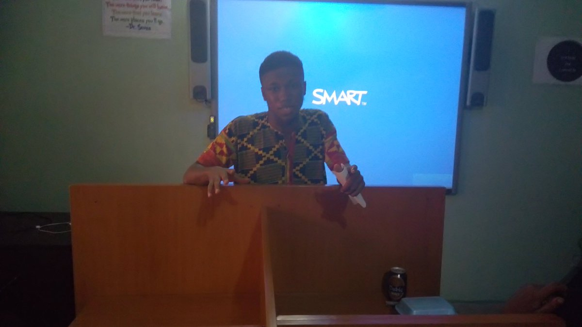 """""""The minds that I've met here @kirfoundation, I may not have met them elsewhere."""" – Kelvin Diri #TGIIFYouth #Feedback #TGIIF #MovieDay<br>http://pic.twitter.com/zs0XccpGwg"""