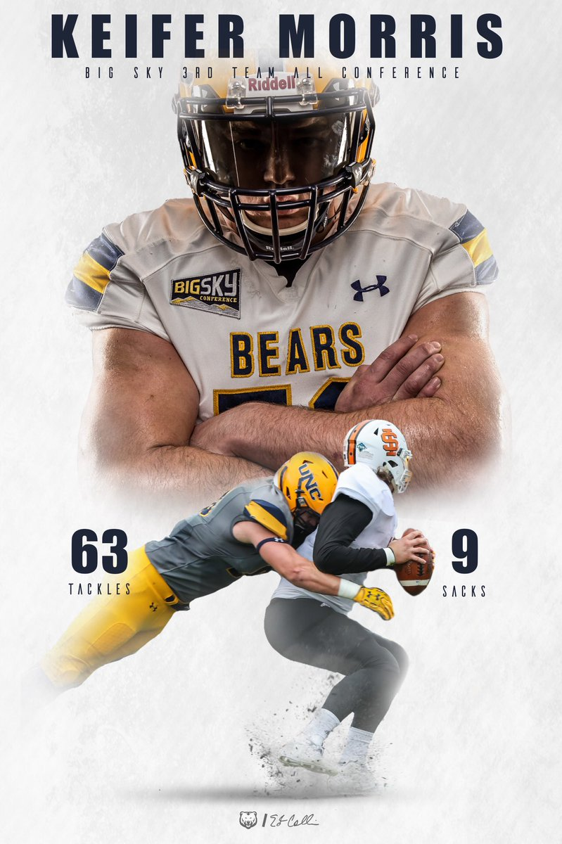 @UNCBearsFB @killa_keif @BigSkyFB  3rd Team All-Conference @UNCCoachCollins @BigSteele32 #UNCommon <br>http://pic.twitter.com/2UtmFbCEsn
