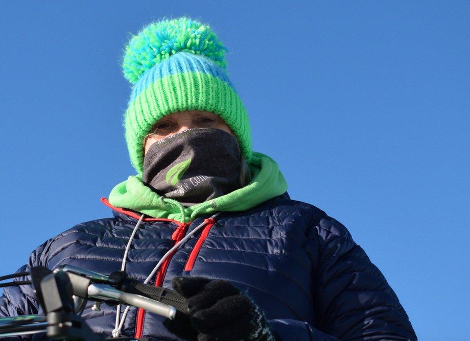 Looking cool keeping warm with @BuffLife...