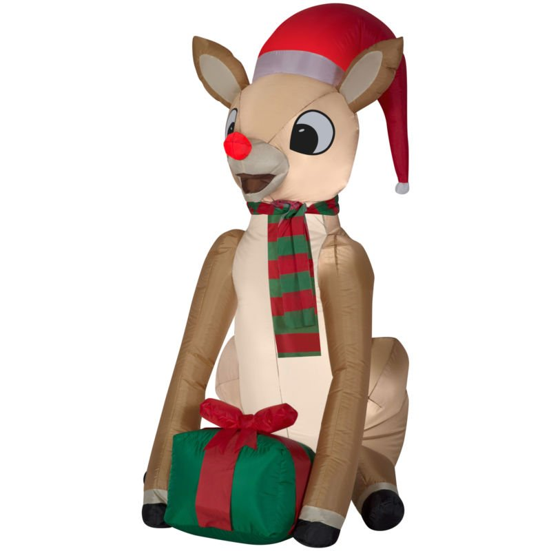 For holiday airblown inflatable