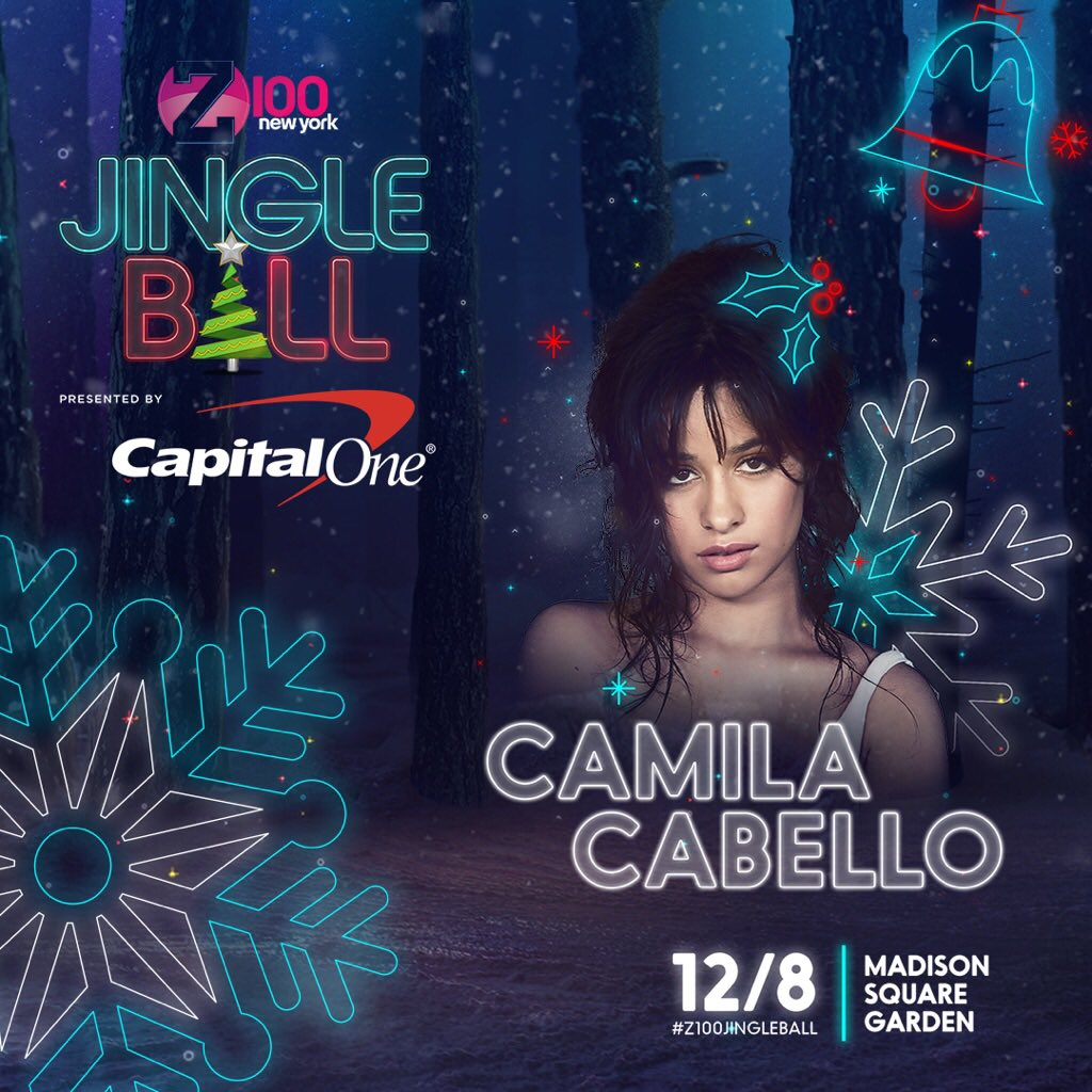 NYC!!!! can't wait to see u at #Z100JingleBall tonight, u can listen live on @z100newyork 💕💕💕