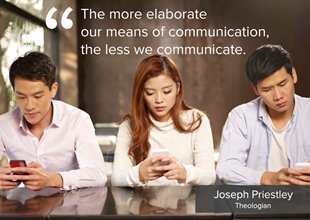 the more elaborate means of communication