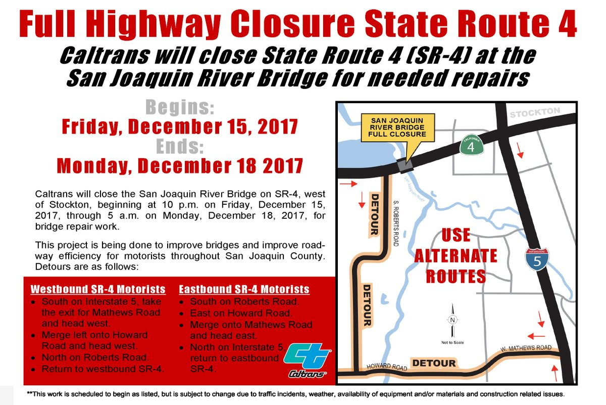 Caltrans District10 On Twitter Alert San Joaquin County 55 Hour How The States Are Interrelated Is Shown In Statechart Diagram State Route 4 For Repairs At River Bridge Scheduled From 10 Pm Friday Dec 15 Through 5 Am Monday 18