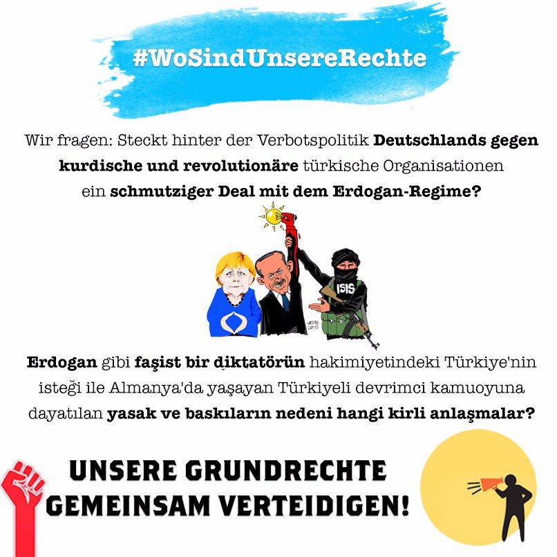 RT @CansuOezdemir: #WoSindUnsereRechte https://t.co/KPbXkeYWoI