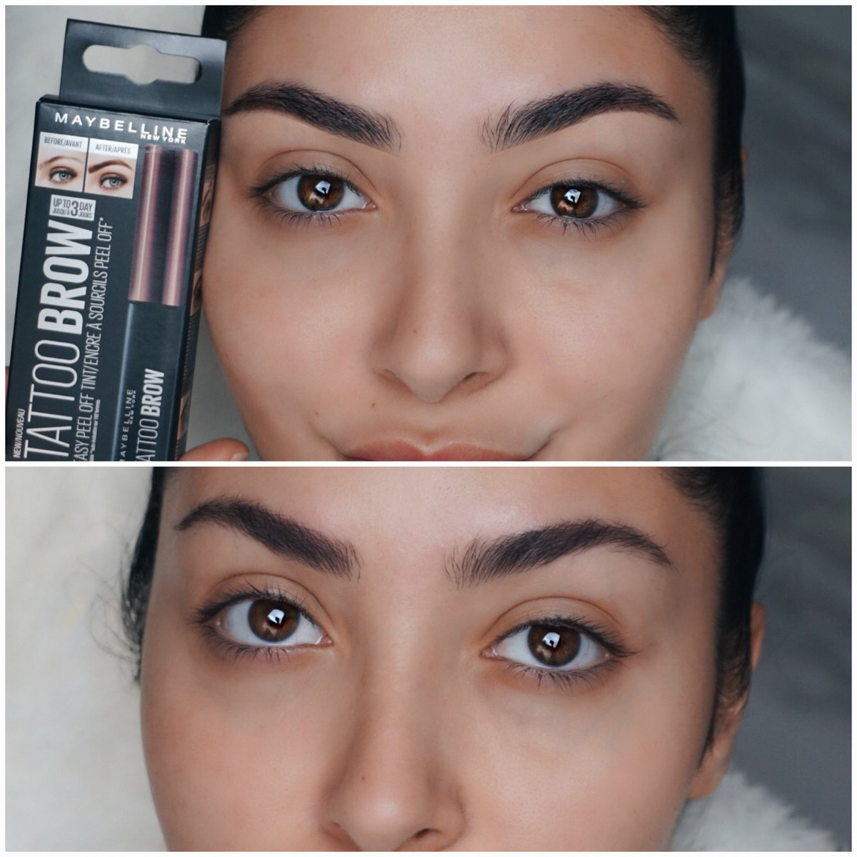Check out the #PowerBrows on @TheNinaVee after using #TattooBrow!  #TattooBrow You can see the difference in 3 simple steps. Apply. Set. Peel Off. pic.twitter.com/CzHPEqNBX5