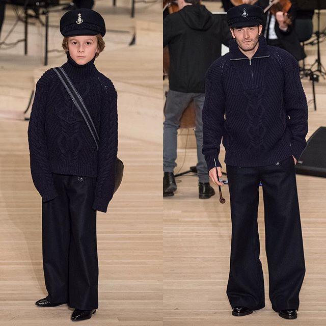 #FORDmodels' #BradKroenig & #HudsonKroenig walk the @CHANEL  #ChanelinHamburg #ChanelMetiersDarts show