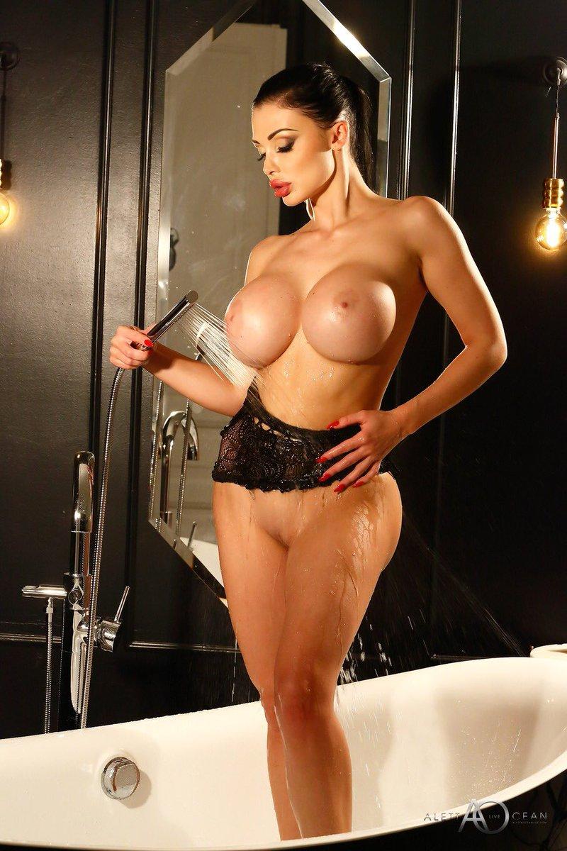 Aletta Ocean-pornstar  - New scene is twitter @ALETTAOCEANXXXX