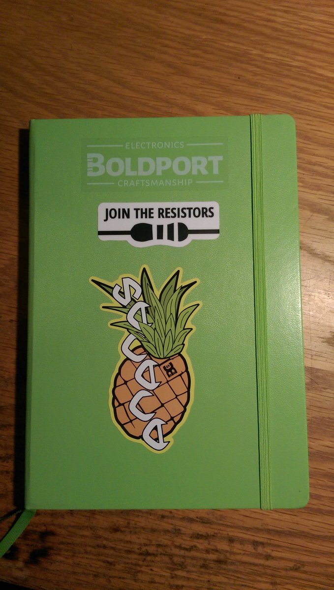 New #BoldportClub sticker from @boldport  yay!  *cough* join the resistors  *cough*