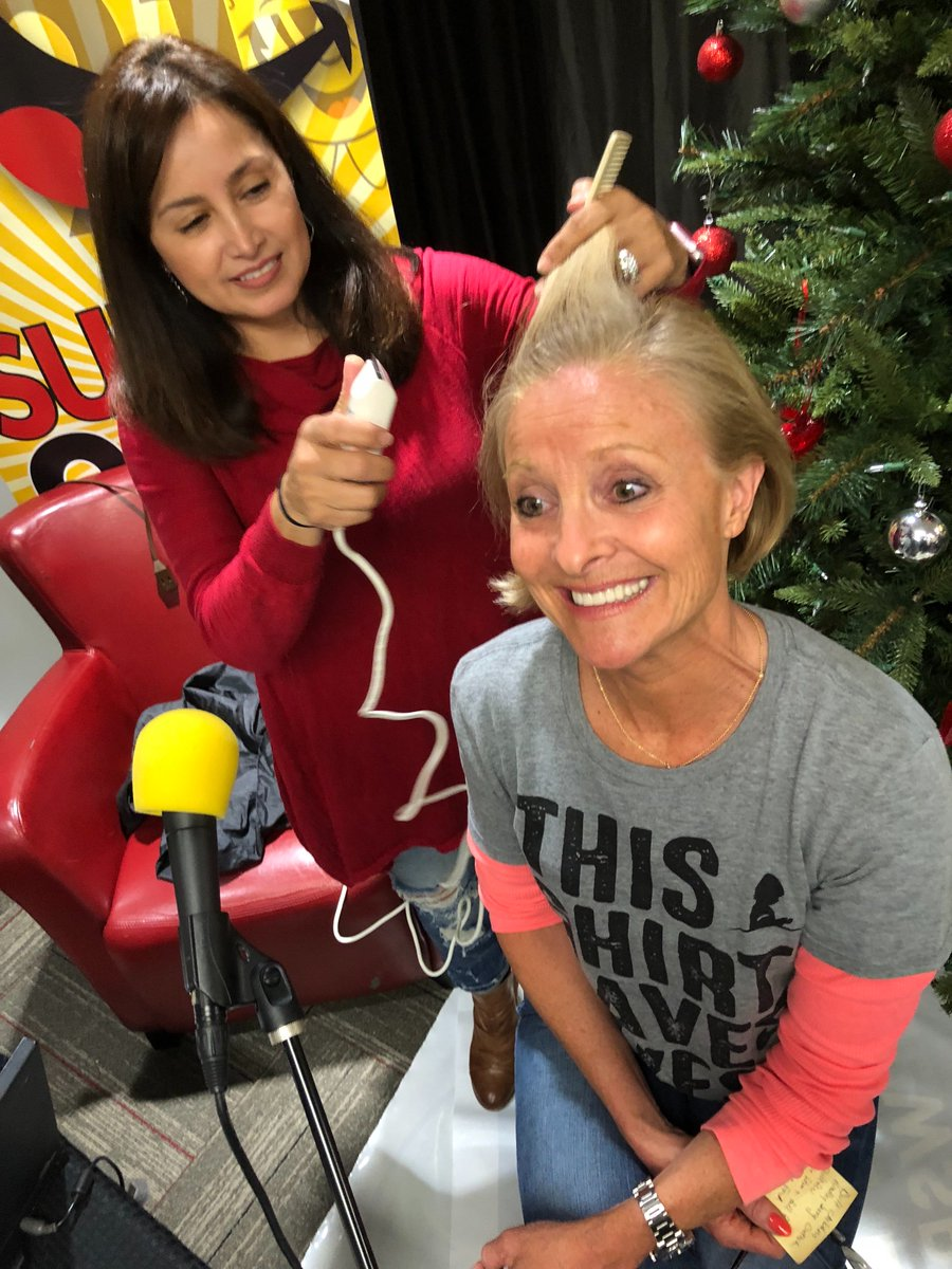 Sunny 99.1 Christmas 2021 Sunny 99 1 On Twitter Dana Tyson Is About Shave Her Head We Love You Stjude Tune In To Our Facebook Live To Support Our Brave Dana Thisshirtsaveslives Https T Co R9ij0mws1j