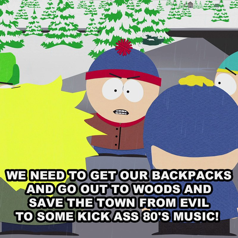 RT @SouthPark: Sometimes it's the only logical solution... #SouthPark21 https://t.co/BwzhVCztVW