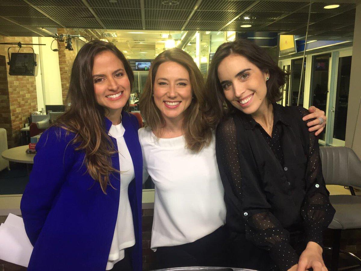 "Para Bens Raquel: Raquel Krähenbühl On Twitter: ""Garotas @GloboNews Nos EUA"