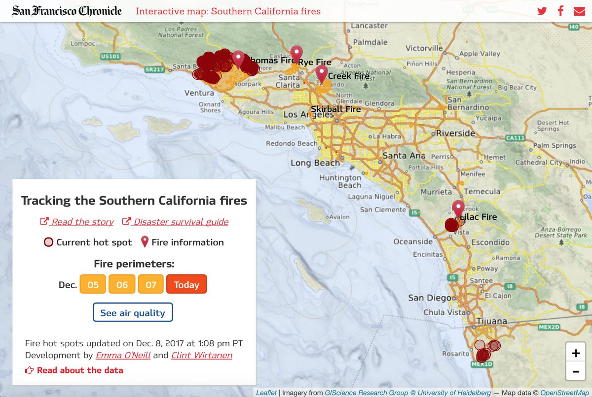 Emma O Neill On Twitter We Just Keep Updating The Fire Map Note