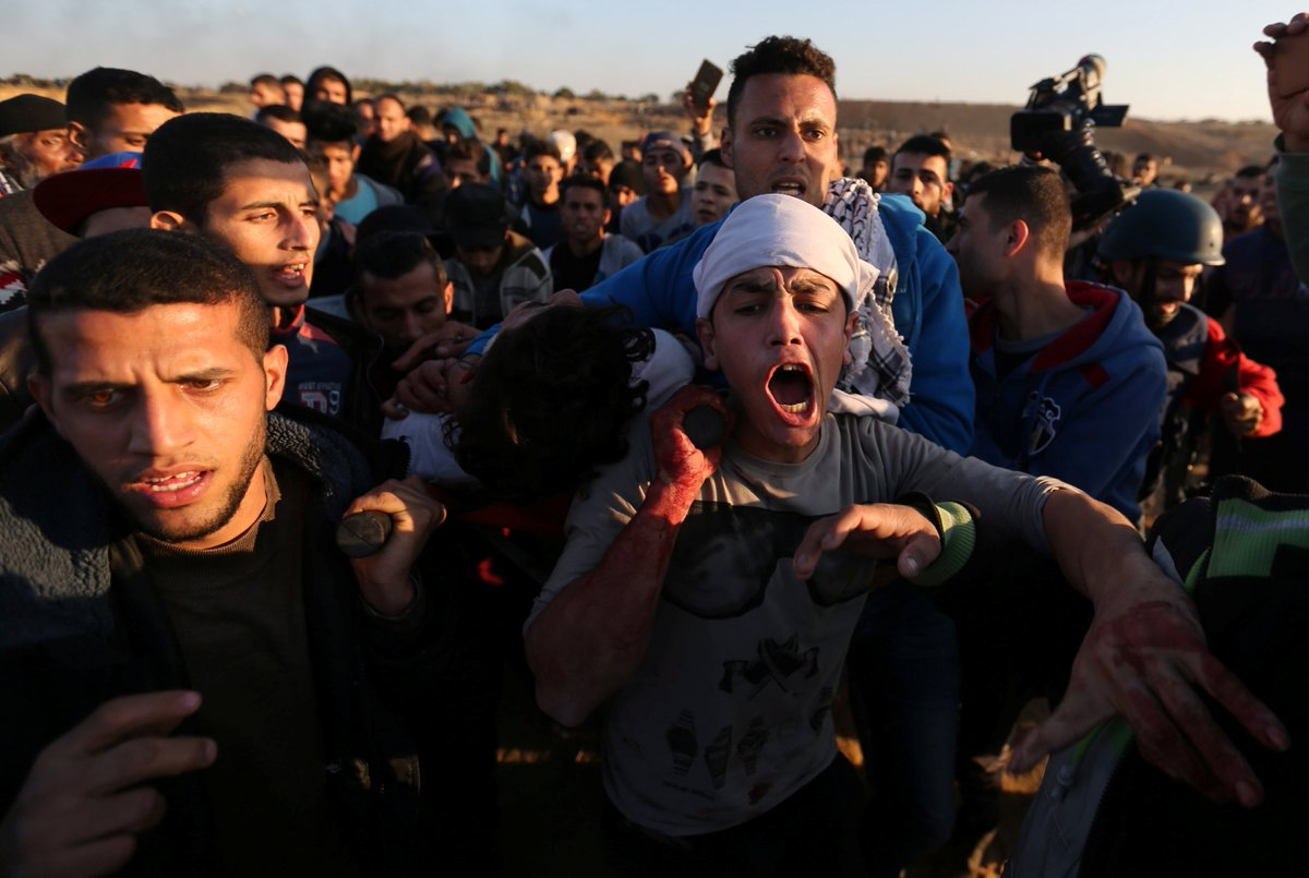 BREAKING: At least two Palestinians have been killed as Day of Rage protests continue across the occupied West Bank, East Jerusalem and the Gaza Strip after Trump recognized Jerusalem as a capital of Israel.