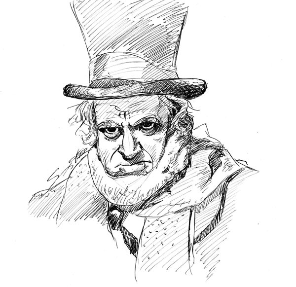 A Christmas Carol Scrooge Drawing Easy.Briandesmondhursts Hashtag On Twitter