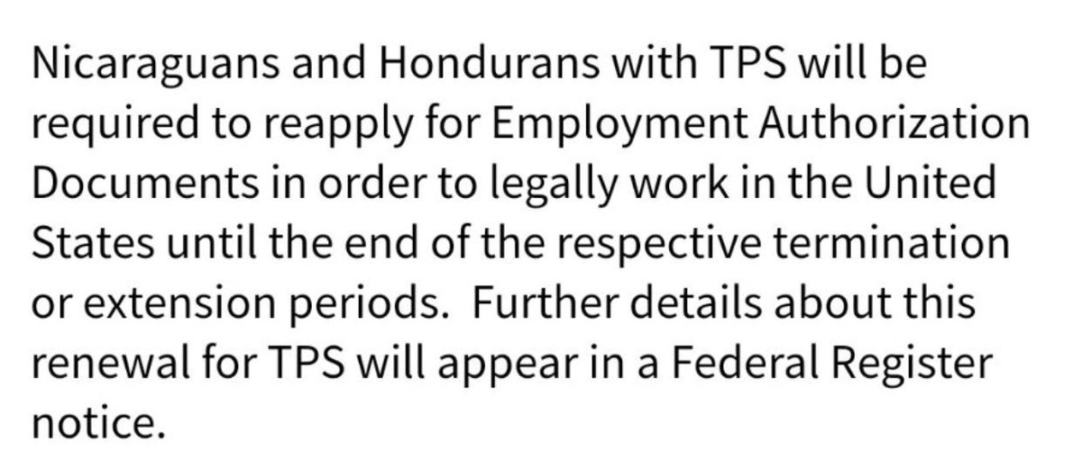 Uscis On Twitter Dont Get Scammed About Tps For Nicaragua