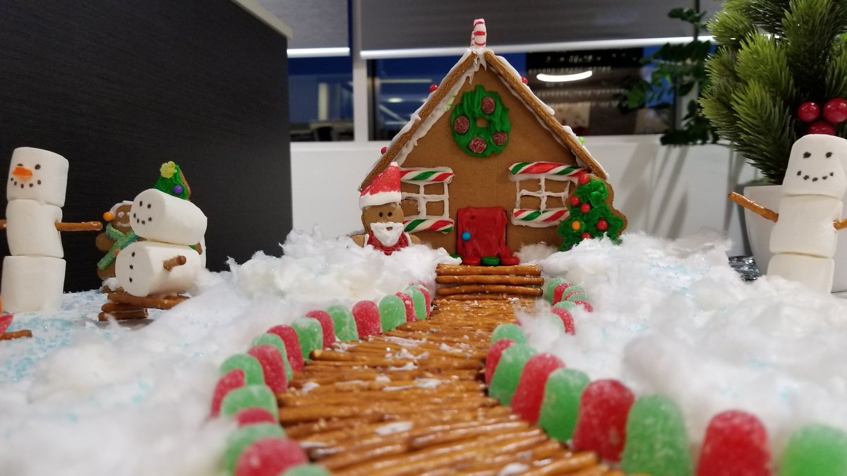 Qualico Commercial On Twitter Gingerbread House