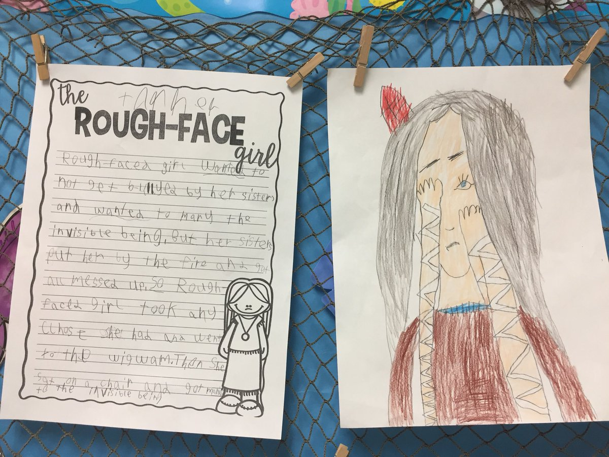 rough face girl summary
