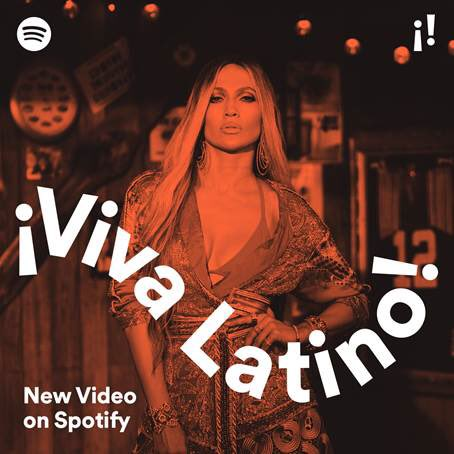 RT @JLo: Check out ¡Viva Latino! and play my Amor, Amor, Amor video....#Spotify #VivaLatino #AmorAmorAmor @Spotify https://t.co/OIASs1ZV0p