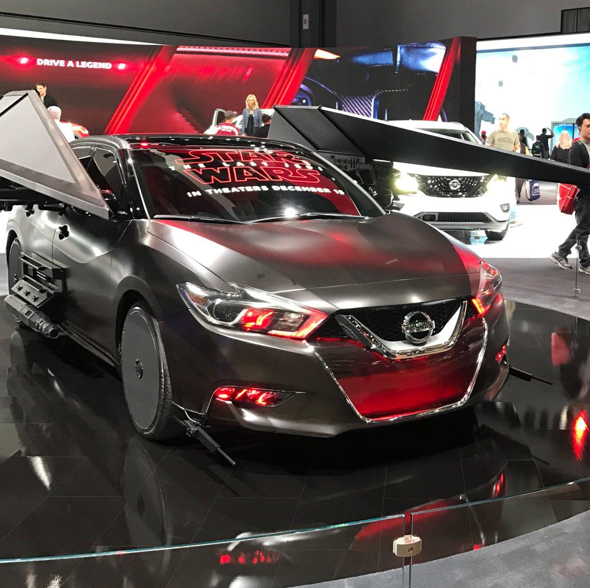 Digital La La Auto Show Features Ar Vr Star Wars Cars
