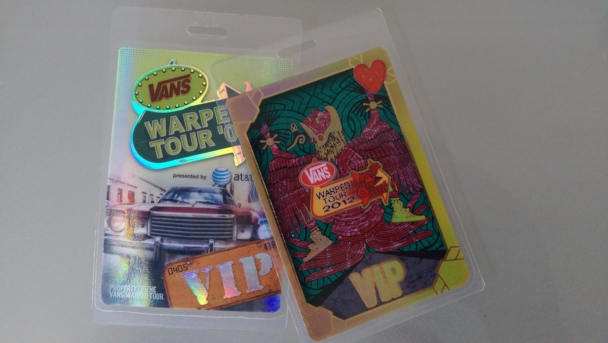 Vans warped tour on twitter one hour win two 2 2018 vip vans warped tour on twitter one hour win two 2 2018 vip backstage passes secure your all access laminate for the last full summer of warped m4hsunfo