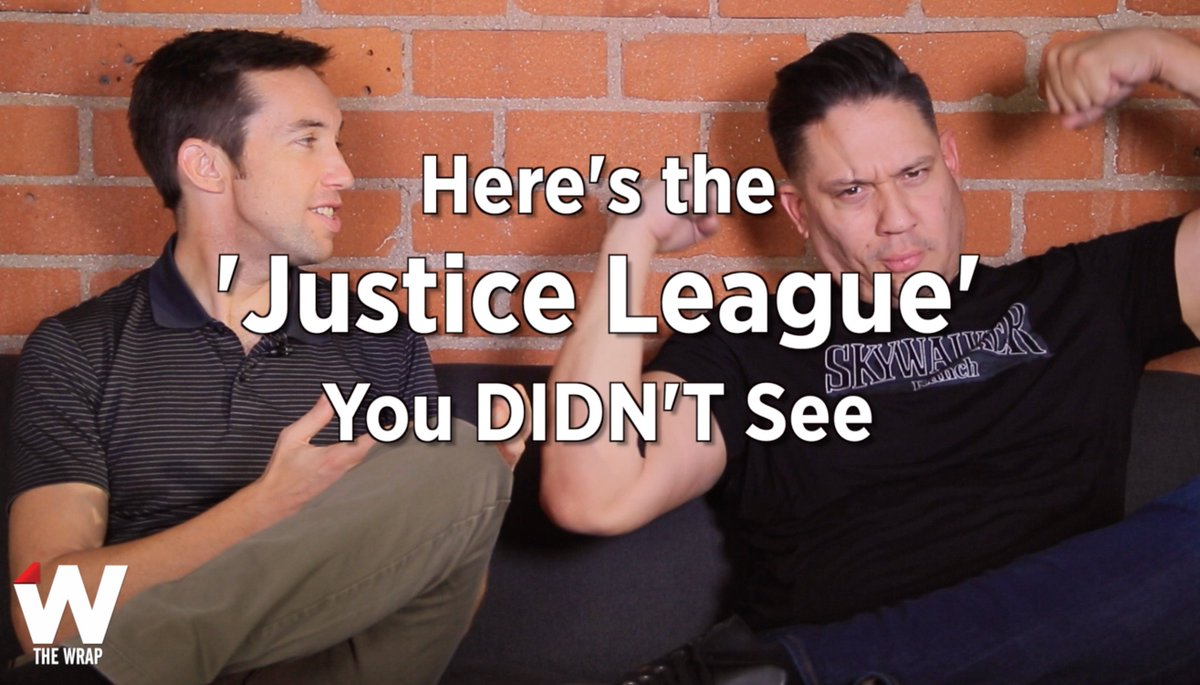 The original script for #JusticeLeague was LOADED. Our 59-second wrap-up: https://t.co/i7tOeAruqC