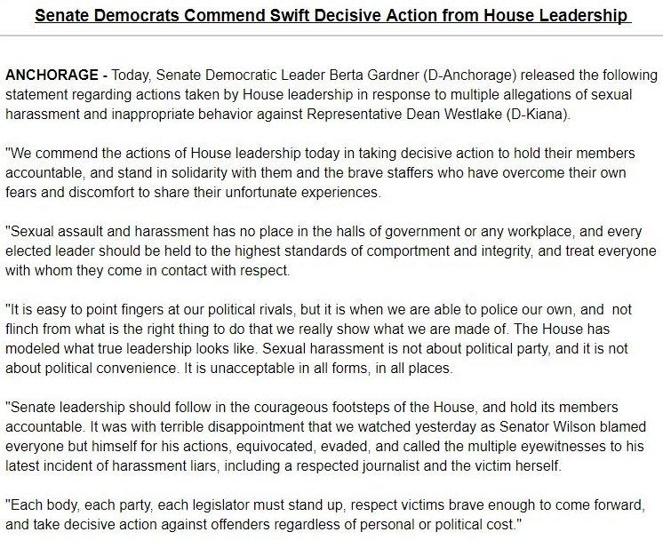 Erin Mcgroarty On Twitter Senate Dem Leader Berta Gardner D