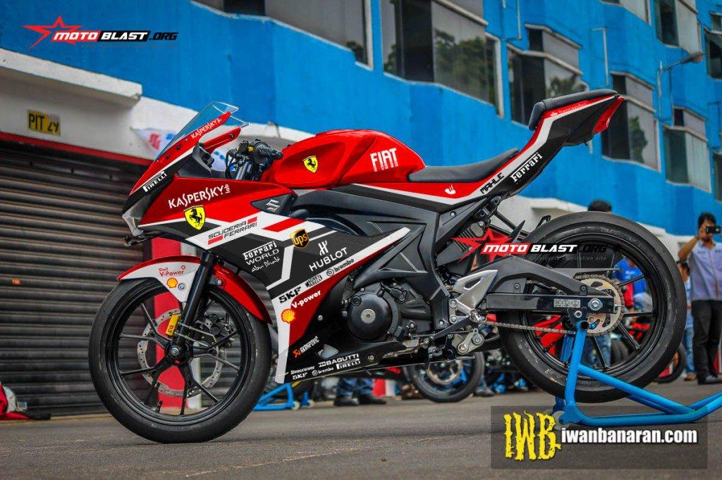 """Blog Motoblast On Twitter: """"Modifikasi Striping Suzuki GSX"""