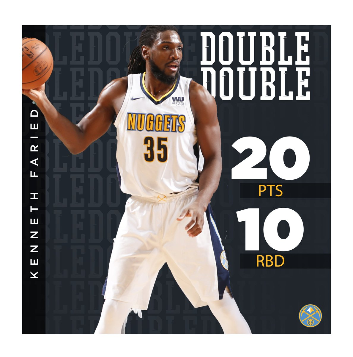 """Denver Nuggets Game Tonight: Denver Nuggets On Twitter: """"The Manimal Brought The Energy"""